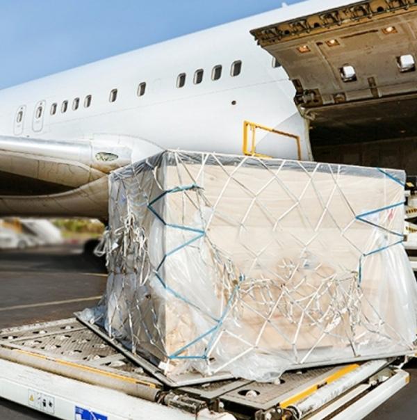 A crate going through our International Logistics Company for specialized transportation logistics