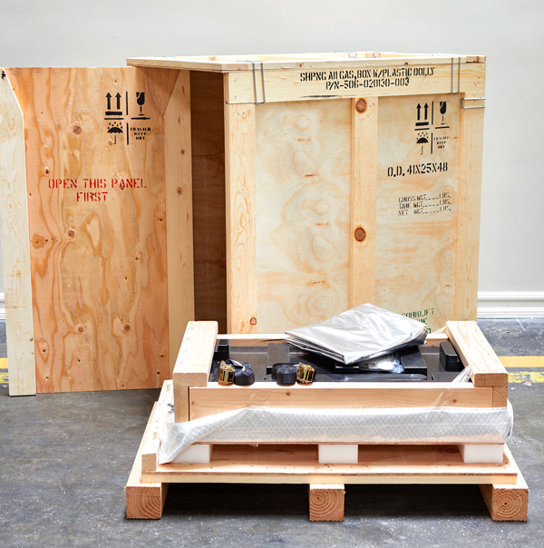 full service crating offered by Valley Relocation