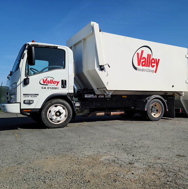 Moving Services Valley Relocation Disposal Truck