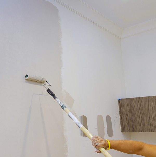 Painting is a part of Valley Facility Services Business and Office Remodels