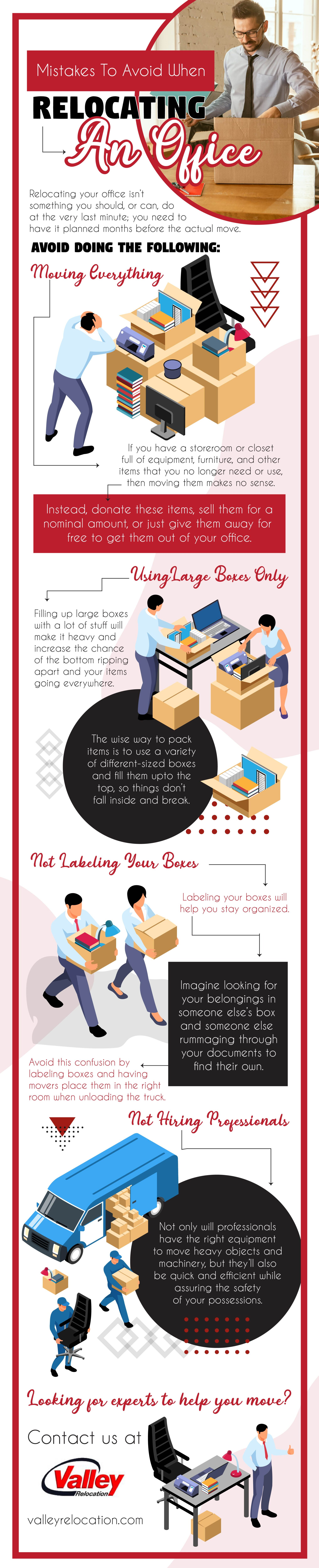 Mistakes To Avoid When Relocating An Office