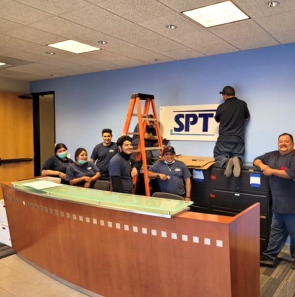 Valley Facility Services Business office light maintenance and Business Cleaning and Sanitizing Crews