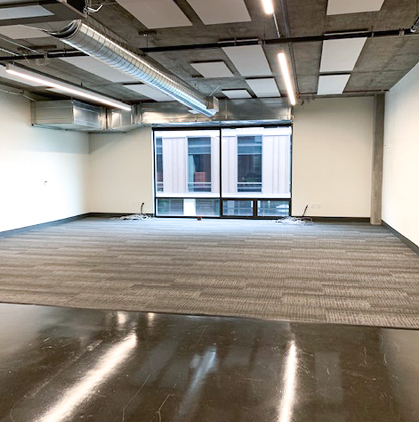 completed tenant business and office light maintenance