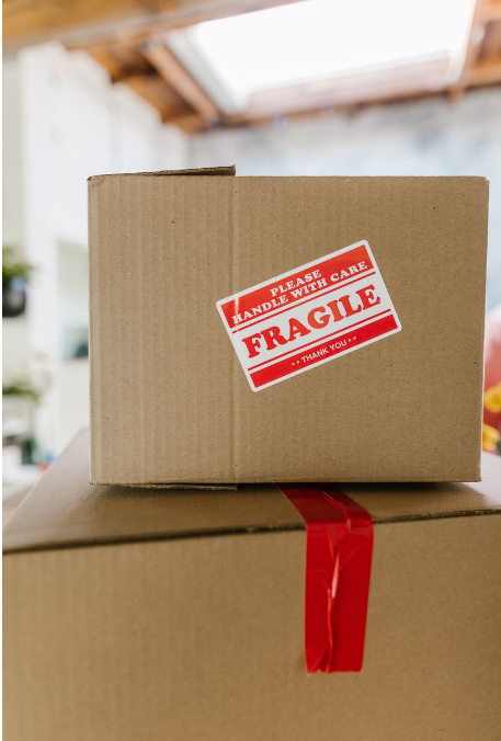Specialized moving servicesmoving a fragile package