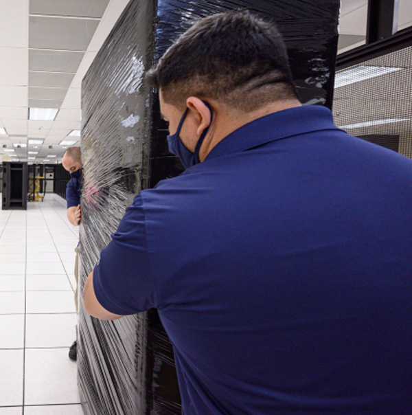 Data Center Decommissioning by our San Jose Silicon Valley Mover Crew